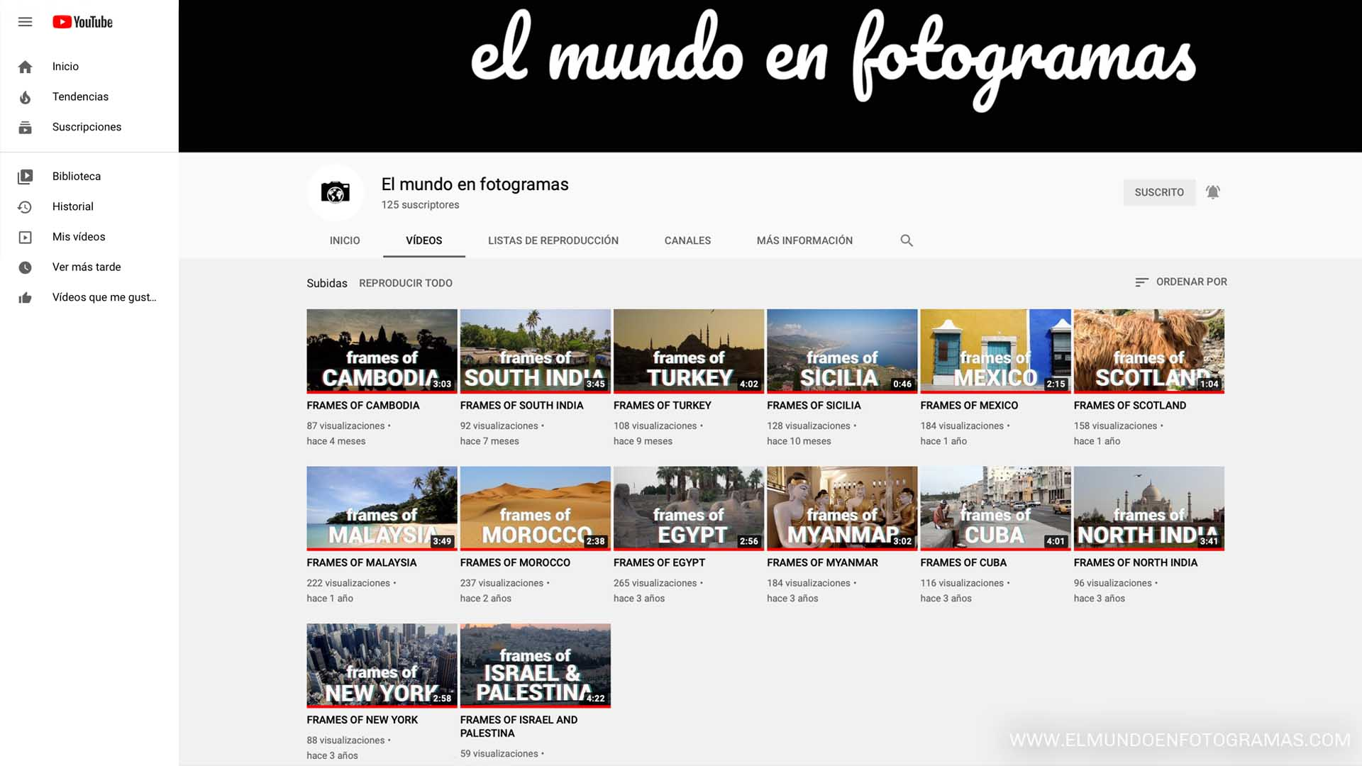 canal-YouTube-videos